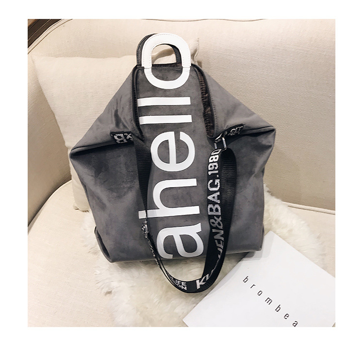 HTB12thQXynrK1RjSsziq6xptpXa0 - New Large-capacity Velvet Handbag Fashion Lady Letter Shoulder Crossbody Bag High Quality Women's Shopping Bag Tote