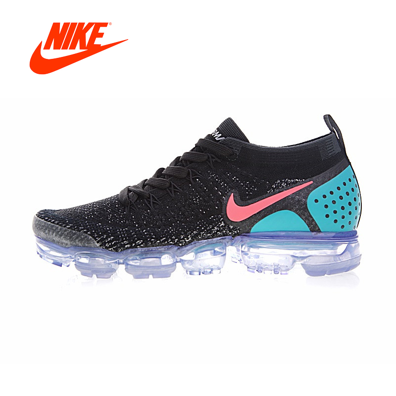 82150949ac4e Original New Arrival Authentic Nike Air VaporMax Flyknit 2.0 Men s  Comfortable Running Shoes Sneakers Good Quality 942842-003
