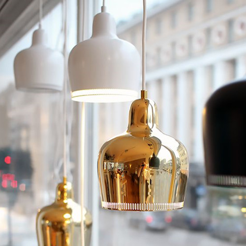 modern Artek metal pendant light personality Restaurant Bar E27 220V For Decor Home Lighting
