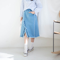 Jeans Kids Girl Clothes Teen Girls Skirts Summer Kids Children S Clothing Pockets Denim Kids Skirts