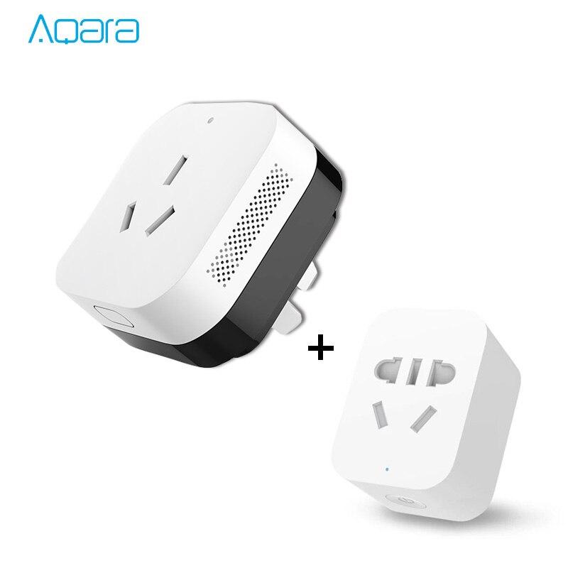 Original Aqara Smart Combination Smart Air Conditioner Mate + Smart Socket Zigbee version WiFi Remote Control by Mi APP цены