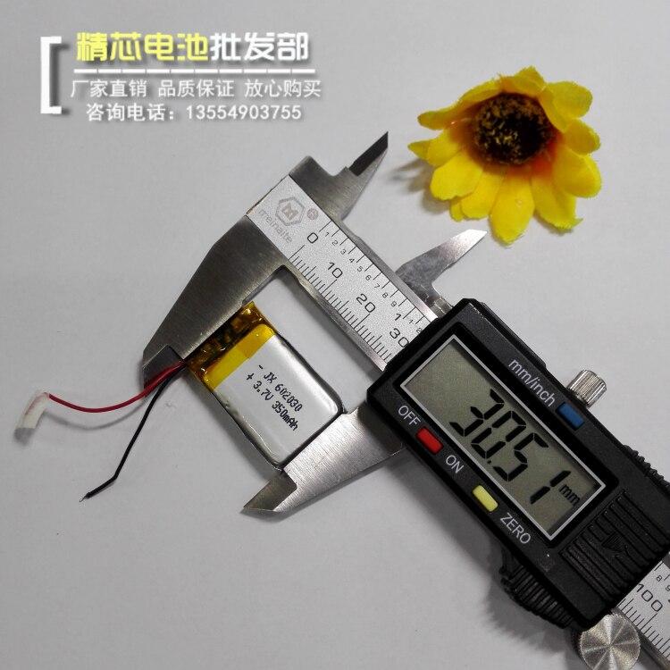 Intellective Klik Pen Opname Pen Batterij 3.7 V Lithium Batterij 602030 Rijden Recorder Flash Schoenen Universele Oplaadbare Dingen Gemakkelijk Maken Voor Klanten