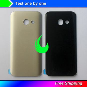 New Original Battery Glass Cover Housing Replacement For Samsung Galaxy A3 2017 A320 SM-A320F A320F Back Door Cover Free Track image