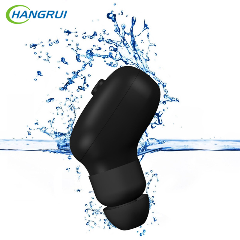 HANGRUI Bluetooth Earphone Sports wireless earphones for Phone Earpiece with mic IP67 Waterproof Stereo earbuds blutooth headset wireless sports bluetooth earphone waterproof sports bass bluetooth earphones with mic for smart phone fone de ouvido earbuds