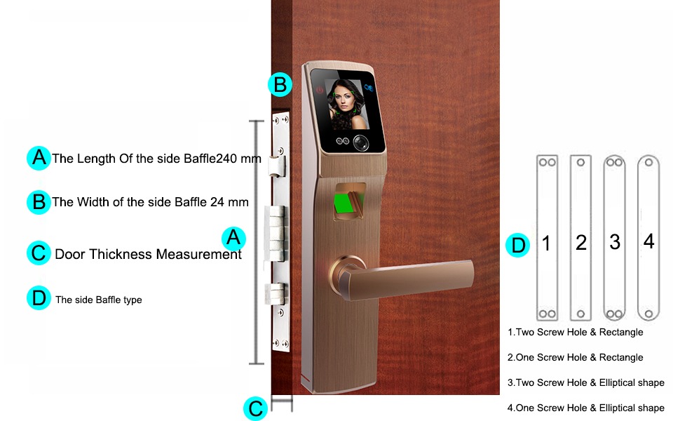 Electronic Lock Door