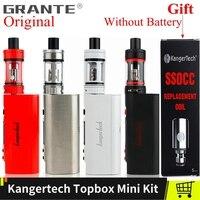 Kangertech TOPBOX Mini Vape Kit Kangertech Subox Mini 75W Box Mod Toptank Mini Atomizer SSOCC Coil Vape Electronic Cigarette