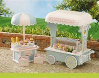 Sylvanian Família loja de Sorvete com caixa original brinquedo fingir conjunto de mini tamanho do presente Das Crianças