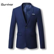 Мужчины Blazer 2016 Новый Костюм Мужчины 5 Цвета Повседневные Куртки терно Masculino Последние Конструкции Пальто Пиджаки Мужская Одежда Плюс Размер М-6XL(China (Mainland))