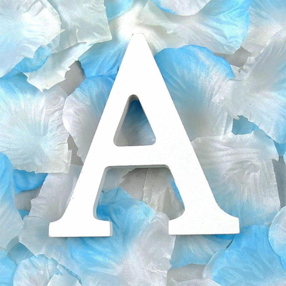 3D деревянные буквы letras decorativas персонализированное Имя Дизайн Искусство ремесло деревянные украшения letras de madera houten буквы - Цвет: A