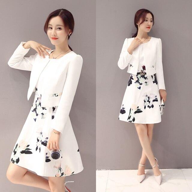 Vestido blanco oficina