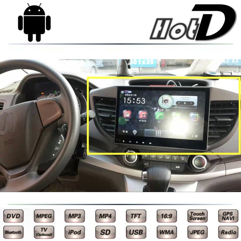 For HONDA For CRV For CR-V RM 2011 2012 2013 2014 2015 2016 Car Multimedia DVD Player GPS Navigation Android System Big Screen цена 2017
