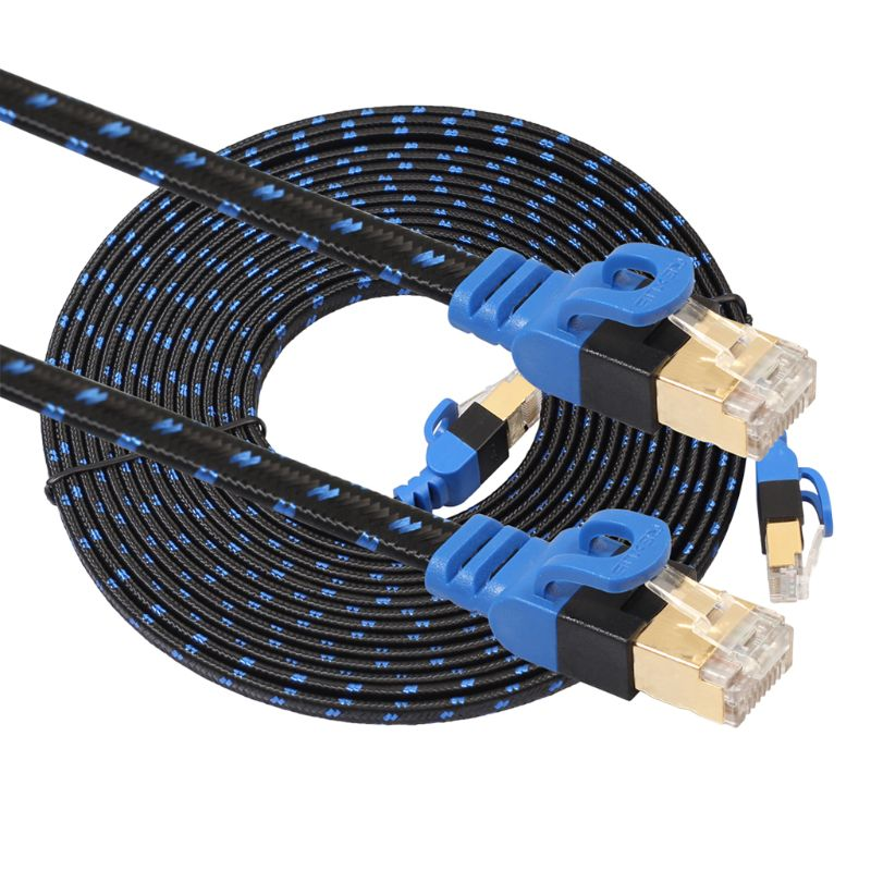 Kingzer 15M CAT5 RJ45 Ethernet Networking Patch Cable For 10 100 1000 Base-T Networks