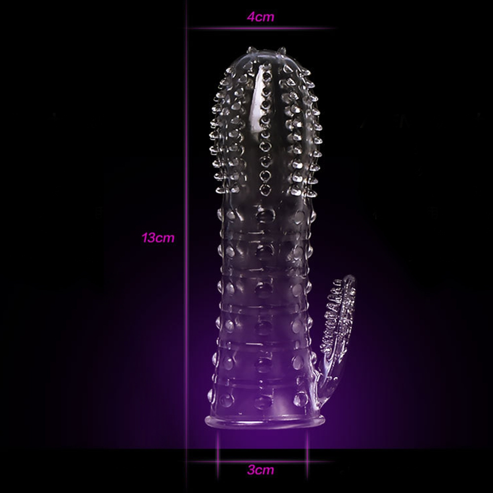 IKOKY Penis Ring Delaying Ejaculation Cock Ring Sex Toys for Men Reusable Condom Penis Sleeves Male Masturbation Penis Extension 5
