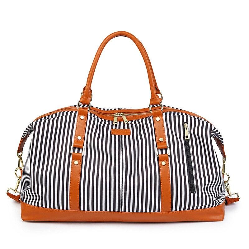 Women/Men Travel Bags Oxford Waterproof Large Capacity Luggage Duffle Bag Weekend Casual Travel Bags 53*36*28Cm