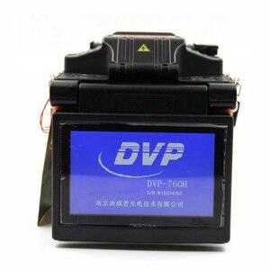 Image 2 - DVP İngilizce menü Fiber füzyon yapıştırma makinesi DVP 760H Fiber optik birleştirme aleti DVP760H 760 FTTH optik fiber füzyon kaynak