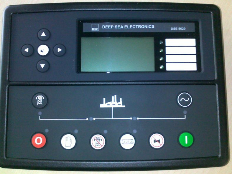 DSE8620 Deep Sea Controller for Generator Set DSE 8620 free shipping deep sea generator set controller module p5110 generator control panel replace dse5110