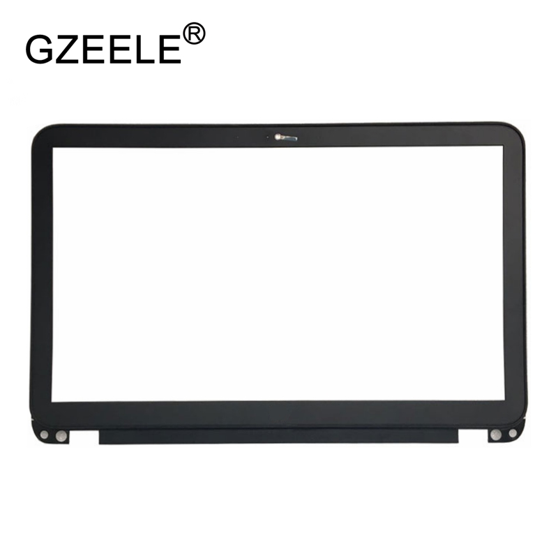 GZEELE NEW for HP ENVY 15-Q ENVY15-Q 15 Q LCD front cover case Bezel Case cover Assembly Laptop shell LCD screen frame black best seller laptop keyboards for hp envy15 15 j000 15 j015 ru black with silver frame and backlit 9z n9hbv 40r