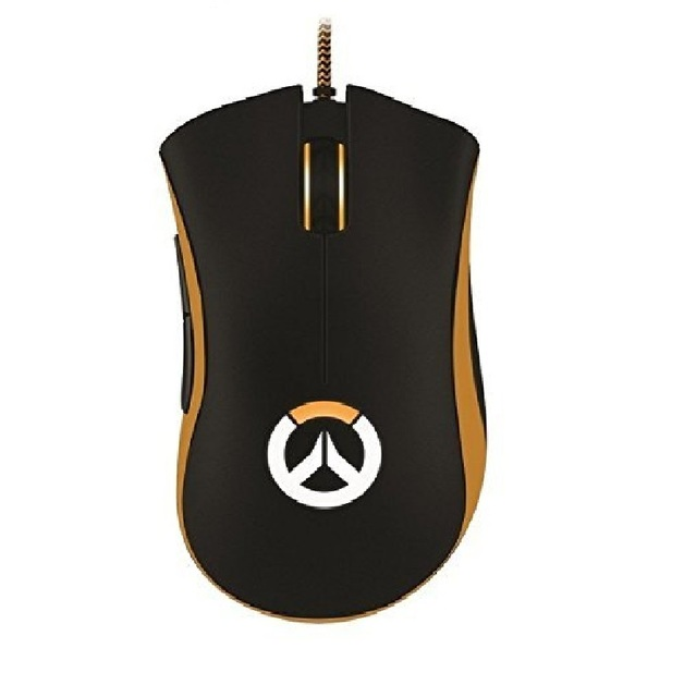 Razer DeathAdder Chroma Overwatch Edition Gaming Mouse 10000 DPI RGB Ergonomic PC Gamer USB Wired Retail Package 1
