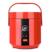 Portable 1.2L Mini Rice Cooker Heating Lunch Box Electronic Cauldron Rice Steamer Dumplings Household Home Appliances цена 2017