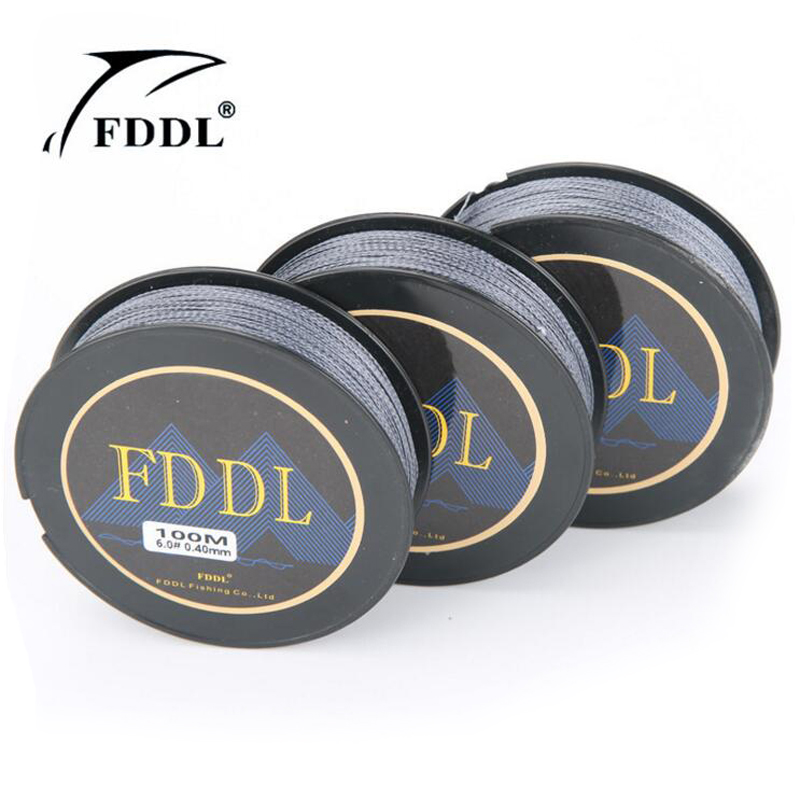 FDDL Lure As Gift The 100M 12-88LB PE Multifilament Super Braided Fishing Line Carp Fishing For Fish Rope Cord