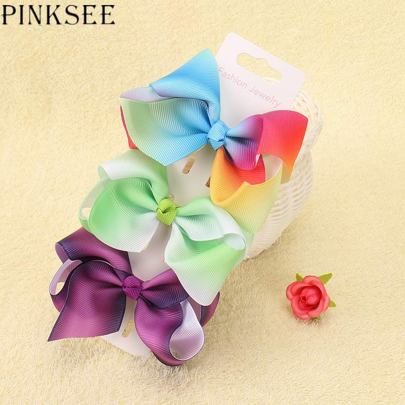 pinksee 9 colors hair bow