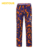NEXTOUR Autumn Winter Women Softshell Pants Thermal Windproof Camo Color Trouers With Fleece Waterproof P2061