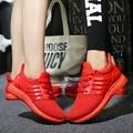 2017 Мужчины Повседневная Обувь Chaussure Femme Корзина Корзина Твердые Плоские Дышащие Суперзвезда Тренеров Красные Нижние Ультрас Повышает Zapatillas
