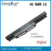 11.1 v 4400 mah nueva original de alta calidad de la batería portátil para asus a32-k53 x43b a53 k53s a43s x44l x84h x43s
