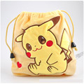Lovely Pikachu Cartoon Coin Purse Pokemon Girl Boy Plush Mini Wallet Pouch Women Key Coin Plush Bouquet Pocket Gift CB0049