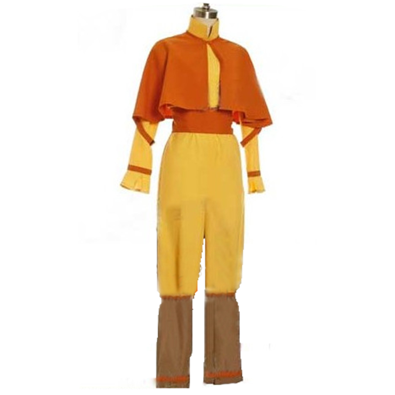 Movie Avatar The Legend of Korra The Last Airbender  Avatar Aang Cosplay Costume