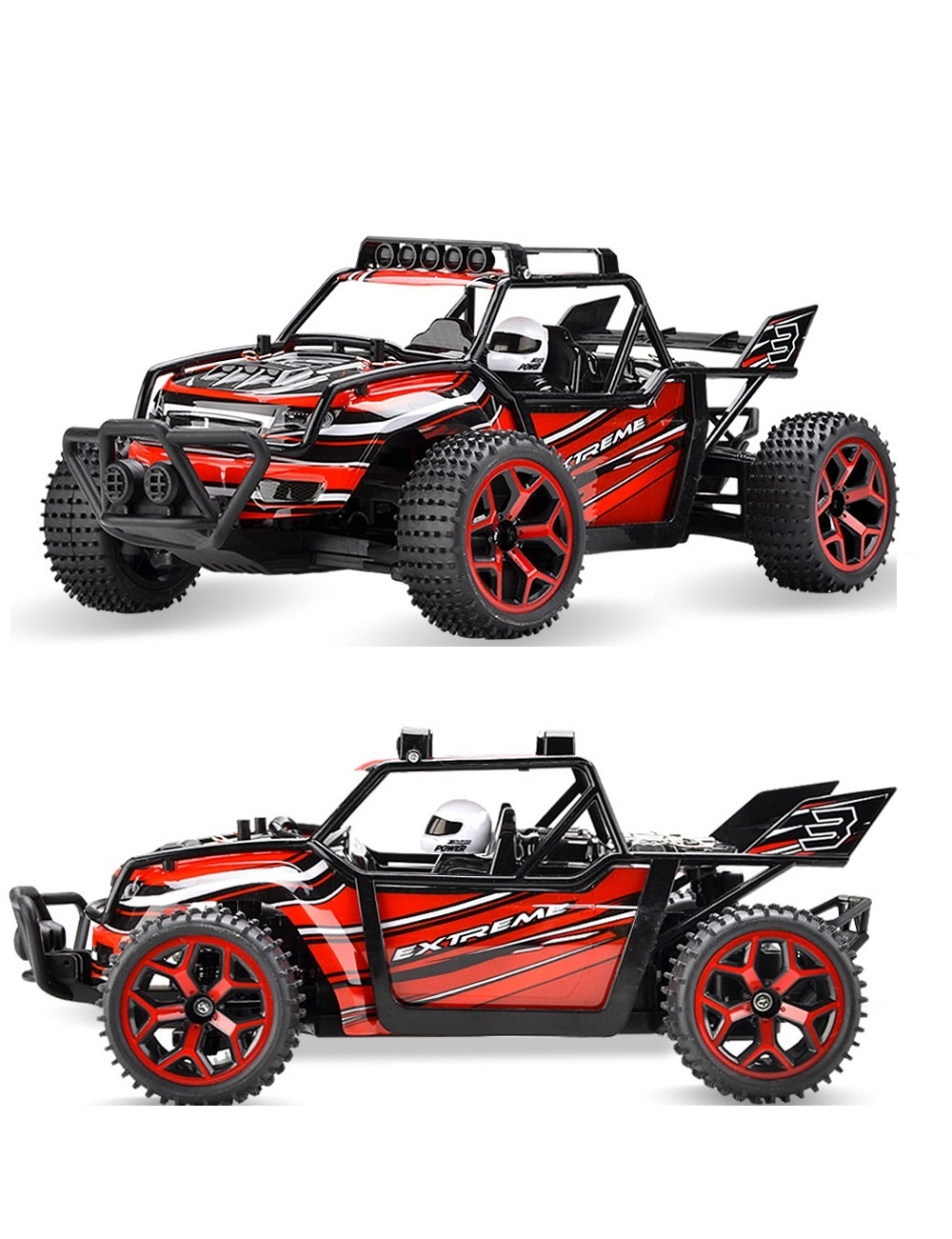 YUKALA 2017 New 1:18 RC Car 4WD Drift Remote Control Car Radio Controlled Machine Highspeed Micro Racing Cars Model Toys