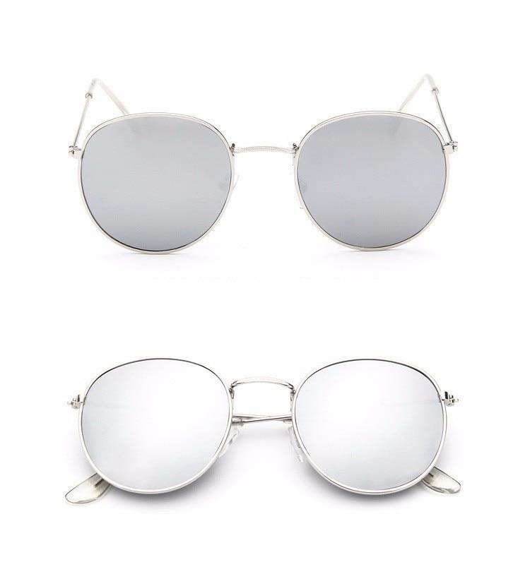 Luxury Brand Design Round Aviator Sunglasses Women Retro Brand Sun Glasses For Women Female Lady Sunglass Driving Mirror Glasses (16)