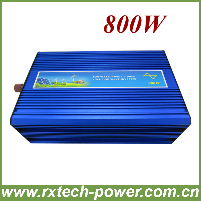 DC to AC inverter 800W off grid pure sine wave frequency inverter. 12V/24V DC to 100/110/120/220/230/240VAC . mje15032g mje15033g to 220