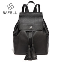 BAFELLI womens backpack waterproof nylon tassel drawstring backpack women travel bag for teenage girls backpack womens backpack