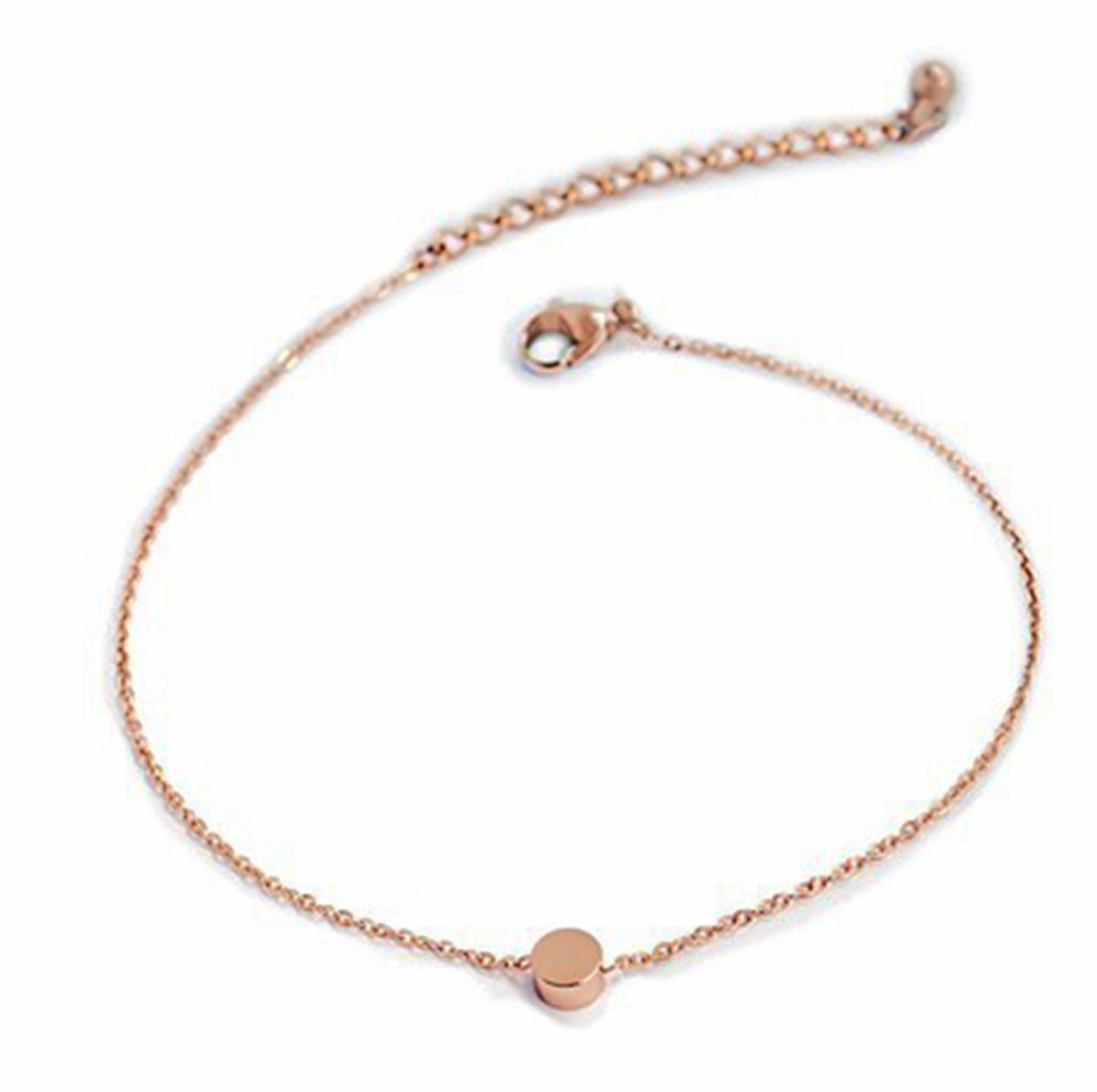 rose miss fashion gold aeproduct anklet new titanium round beans jin jewelry color item anklets licensing getsubject