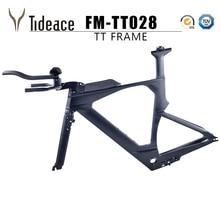 TT Carbon Frame Time Trial Frame Carbon tt frame triathlon frame with Fork+Seatpost+Headset+Clamp+Stem+TT bar tt zt220 zt22043 t0e200fz