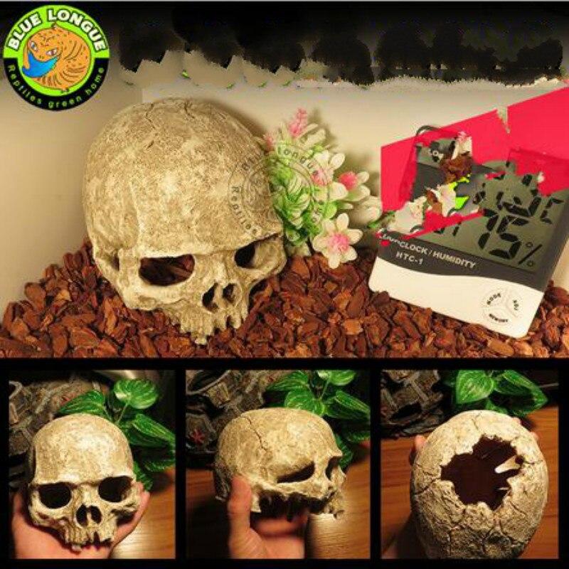 Aquarium decoration fish tank ornaments dinosaur skull for Aquarium decoration kits