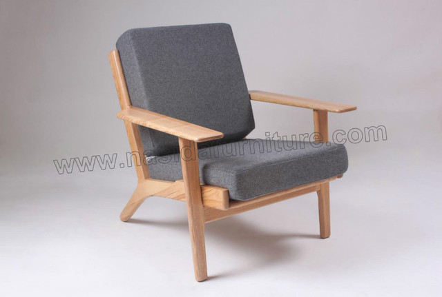 hans wegner ge 290 easy chair sf215 in living room chairs from