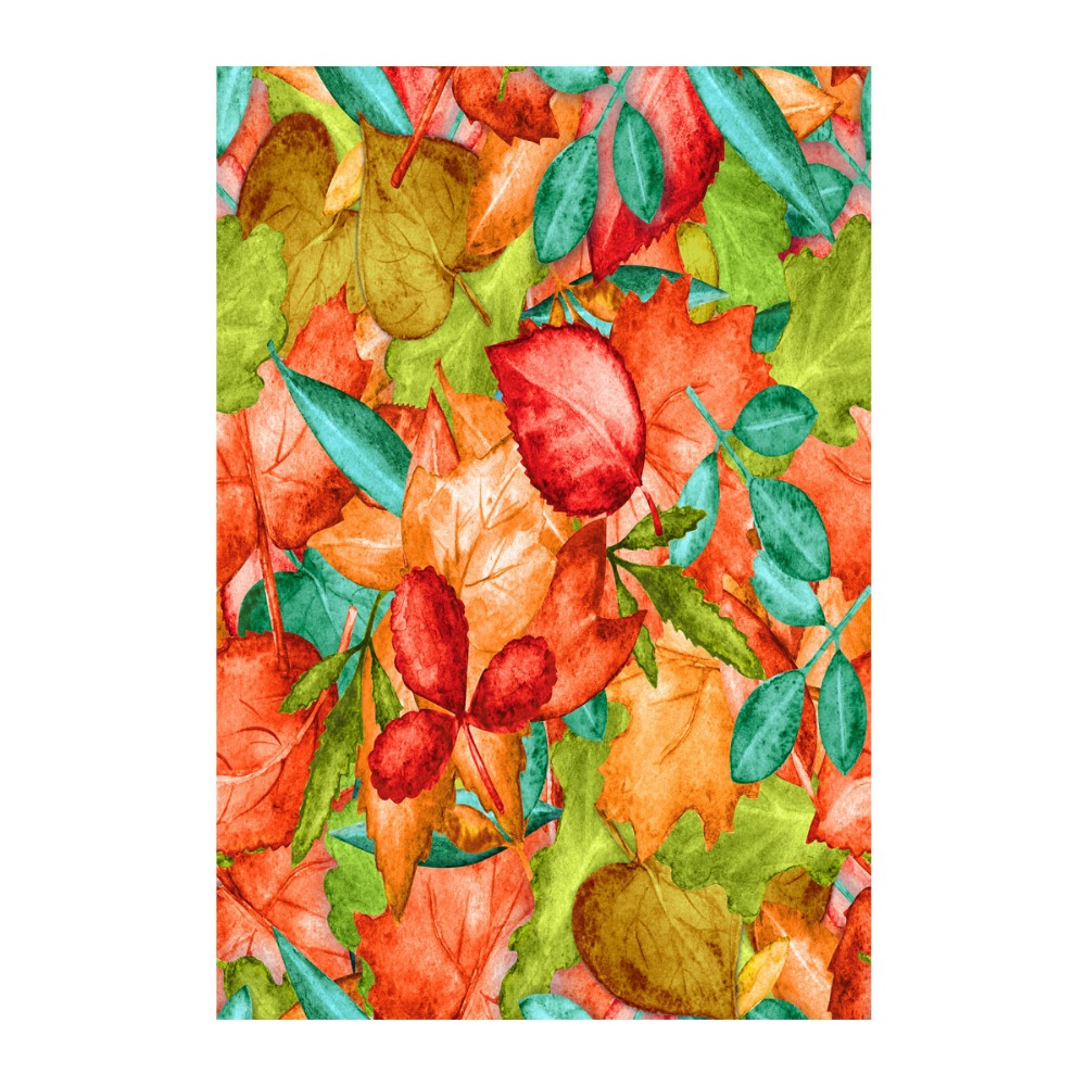welcome fall decorative garden flags autumn leaves designed with