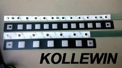A98L-0005-0252 NEW FANUC 12 key OI button sheet Membrane Keypad freeship 1 year warranty fast ship a86l 0001 0288 1pc membrane keypad new fast ship in stock 6 button or 12 button