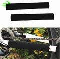 Marca duradera ciclismo cadena estancia vaina bicicleta guardia marco de la cubierta negro Protector SM3004