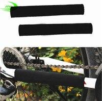 Marke Durable Radfahren Kette Bleiben Kettenstrebe Fahrrad Schutzabdeckung Rahmen Schwarz Beschützer SM3004-in Fahrradkette aus Sport und Unterhaltung bei
