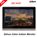 Dahua 10 inches Color Indoor Monitor Original English Version Support SD Card and leave audio/video message VTH1660CH