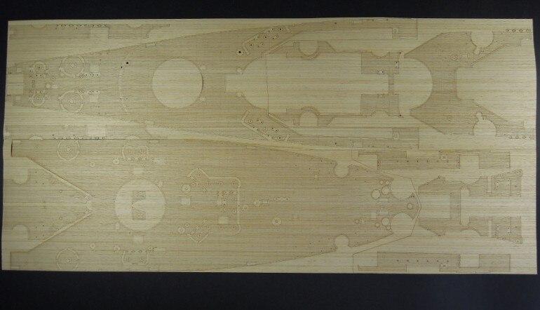 ARTWOX Trumpeter 03705 USS Missouri BB-63 wood deck AW30004
