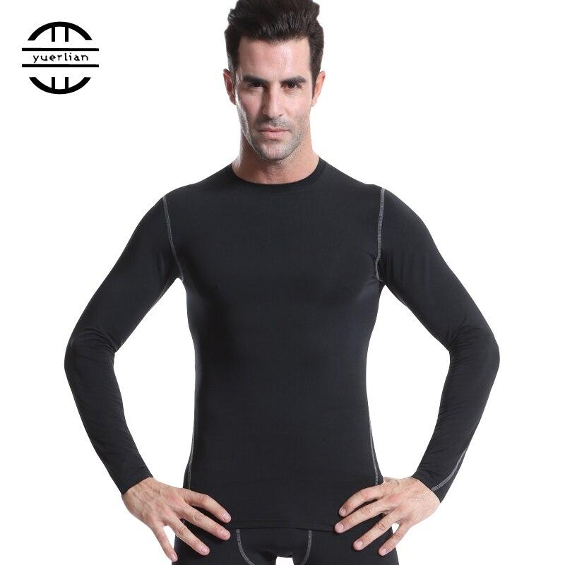 Yuerlian Quick Dry Compression Laufshirt Enge Trikots Fitness Sport - Sportbekleidung und Accessoires - Foto 5