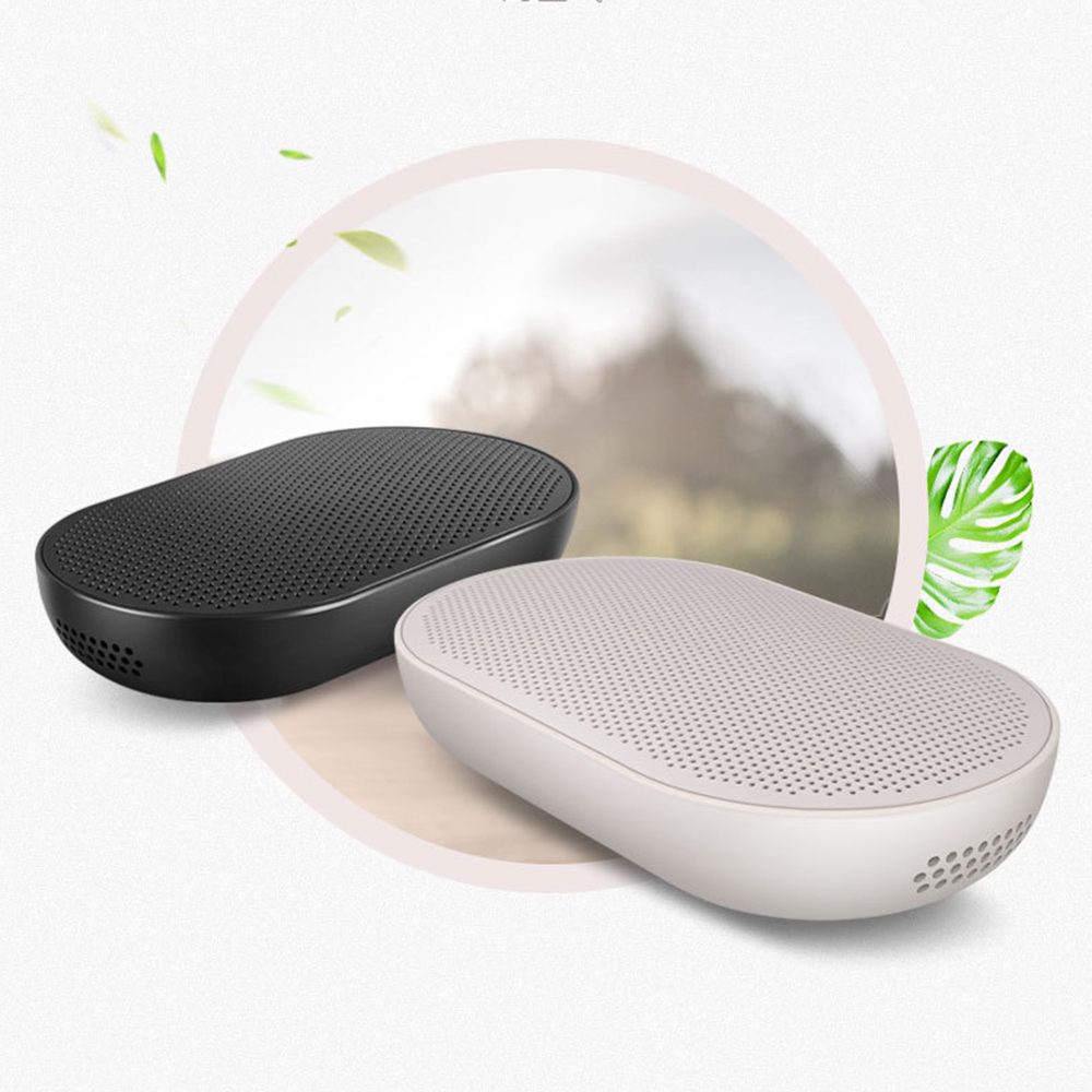 CARZOR Car Air Purifier Auto Air Freshener Negative Ion Generator Cleaner Three-Layer Purification Low Noise Powerful Motivation car air purifier humidification atomization aromatherapy negative ion purification freshener cleaner ionizer air purifier