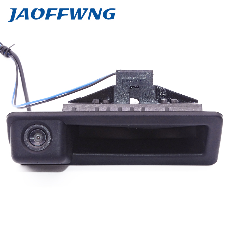 Car Trunk Handle HD 4 Pin Rear View Camera for BMW E60 E61 E70 E71 E72 E82 E88 E84 E90 E91 E92 E93 X1 X5 Parking Backup Camera image