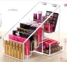 New Arrival Acrylic Cosmetic Storage Box Multifunctional Makeup Organizer Lipstick Drawer Cabinets Nail Polish Rack
