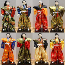 Beautiful Japanese Unique ninja warrior Figurines with katana Sword new office and house deocration fengshui craft