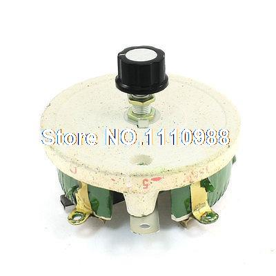150W 5 Ohm Ceramic Potentiometer Variable Linear Pot Resistor Rheostat simulation unicorn 16x15cm hard model polyethylene